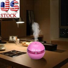 Air Spray Water Dispenser Diffuser Ultrasonic Moisturizing Humidifier Pink
