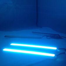 2Pcs Auto SUV 14cm Ice Blue COB LED 12V Waterproof DRL Lamp Driving Fog Lights