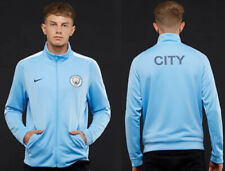 Nike Manchester City 17/18 NSW Authentic Jacket - Field Blue/W - men size medium