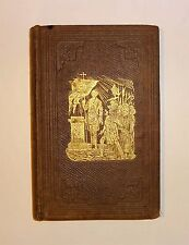 1855 ODD-FELLOWS MANUAL by Aaron Grosh, Illustrated, Order History Principles VG