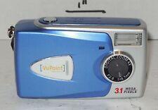VuPoint Solutions 3.1MP Digital Camera - Silver & blue 4x Digital Zoom
