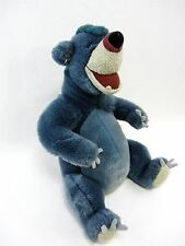 "12"" BALOO Plush - top of head hair matted down from a washing, Jungle Book"