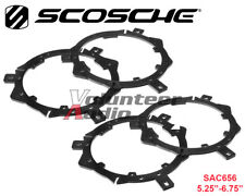 "(2) Pair Scosche SAC656 Aftermarket Front / Rear Speaker Adapters 5.25"" - 6.75"""