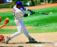 Chicago Cubs Sammy Sosa Signed 16 x 20 Photo Contact - Auto Beckett BAS Witness