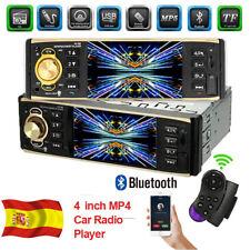 "4.1"" Autoradio Radio Coche MP3 MP5 Bluetooth Car USB SD AUX 1 DIN Estéreo ISO"