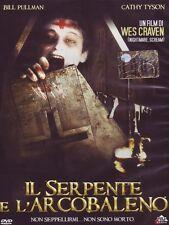 Dvd Il Serpente E L'Arcobaleno - (1987) *** Contenuti Speciali *** ......NUOVO