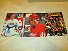 3 Beckett Hockey price guide 1991 Fedorao  & Roy  1992 Flyers Stanley Cup