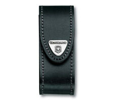 VICTORINOX KNIFE CASE LEATHER THICK 2-4 LEVELS 91 ММ BLACK 4.0520.3