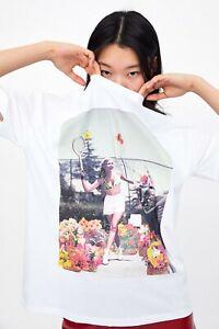 cherrie424: NWT Zara Front Print T-Shirt