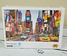 Toy Town 1000 Piece Mini Jigsaw Puzzle Time Square Difficult NEW SEALED BD