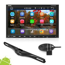 Pyle PLDNANDVR695 - GPS Android Car Stereo Double Din DVR Dash Cam Backup Kit