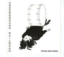 (GR802) Underground Railroad, Sticks And Stones - 2008 DJ CD