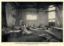 Luftschiffer Werkstatt * Santos-Dumont & Henri Lachambre II * Bilddokument 1901