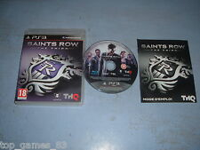 SAINTS ROW THE THIRD PLAYSTATION 3 PS3 COMPLET (envoi suivi)