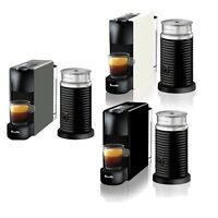 Breville BEC250 Essenza Bundle Nespresso Machine - Black - White - Grey-RRP $249