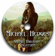 MICHAEL HEDGES FINGERSTYLE GUITAR TABS TABLATURE SONG SOFTWARE CD