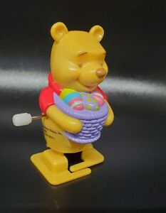 Disney Store Winnie The Pooh Bear Wind Up Toy Working