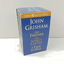 John Grisham THREE #1 BEST SELLERS Box Set 2005