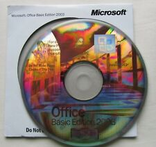 Microsoft Office 2003 Word Excel Outlook completo versión básica XP/Vista/Win 7/8/10