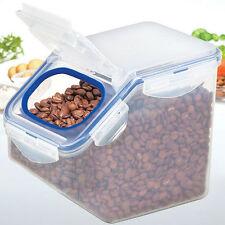 Lock & Lock Dry Food Grain Cereal Container Dispenser Storage 2.5L / 84.5oz E_n