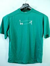 Lululemon Silverescent Men Pocket T shirt Wet Dry Warm Green size Xl