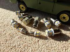 Land Rover Series 2 3 Full LED External Bulb Set/Kit (No Headlights) Warm White