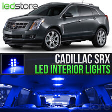 2010-2016 Cadillac SRX Blue Interior LED Lights Kit Package