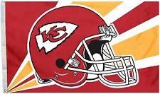 Fremont Die Nfl Kansas City Chiefs 3' x 5' Flag with Grommets, Helmet