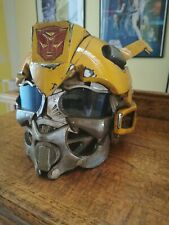 Transformers Bumblebee Custom Westhered Helmet with Sounds