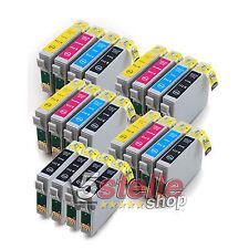 20 CARTUCCE COMPATIBILI PER STAMPANTE EPSON STYLUS SX200 SX 200