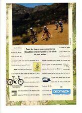 1995 / Décathlon / VTT Rockrider 20 SX / publicity / advertising