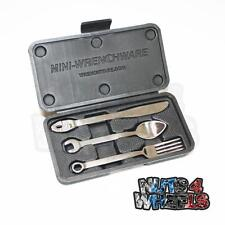 Wrenchware Kids Cutlery set Spanner Knife Fork Spoon Mechanics Car Gift Present