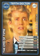 DR WHO MONSTER INVASION SET 2 EXTREME CARD: 170 TENTH DOCTOR