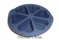 Tupperware Silikonform  -6 Muffins in Herz geformte -
