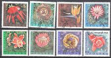 Poland 1968 - Exotic Flowers - Mi 1836-43 - used