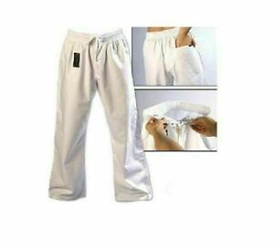 ProForce Combat Karate Pants Martial Arts Uniform Training Taekwondo White 8 oz
