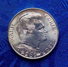 MONNAIE DE 100F MARIE CURIE 1984  EN ARGENT MASSIF 900%
