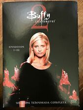 Sarah Michelle Gellar BUFFY THE VAMPIRE SLAYER SEASON TWO Series 2 | Spanish DVD