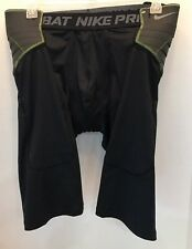 Nwt Nike Pro Combat Hyperstrong black Football Dri Fit Shorts 626419 010 Sz 3Xl