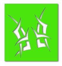 GLITTER STENCIL PER TATUAGGI-TRIBALI SD005 (3) x 5 Stencil per identici