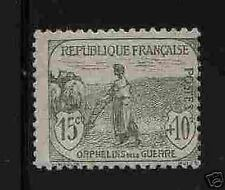 "FRANCE STAMP TIMBRE 150 "" ORPHELINS 15c+10c "" NEUF xx TTB, VALEUR 125€ !"