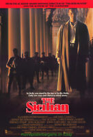 THE SICILIAN MOVIE POSTER Original 27x40 Rolled 1987 THE GODFATHER SPIN-OFF
