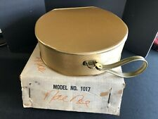 VINTAGE SAMSONITE VINYL CARRYING CASE (FOR ELECTRIC HAIR DRYER)