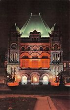 Provincial Parliment Building at Night Toronto Ontario ONT 261