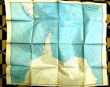 FALKLAND ISLANDS AND DEPENDENCIES - VINTAGE MAP 1949. SOUTH GEORGIA,