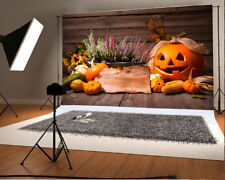 7x5ft Background Pumpkin Cartoon Natural Scene Photo Backdrop Studio Props Vinyl