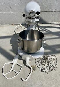 KitchenAid Model K5SS Heavy Duty 10-Speed 5-Qt Stand Mixer - Parts or Repair