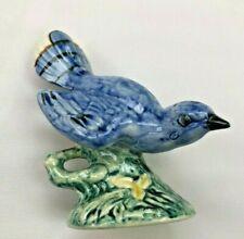 VINTAGE STANGL POTTERY BIRDS BLUE BIRD JAY FIGURINE #3276S