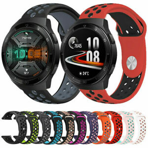 For Huawei Watch GT 2e Silicone Fitness Replacement Wrist Strap Band 22mm