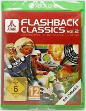 Atari Flashback Classics Collection Volume 2 Retro Video Games For XBOX One New